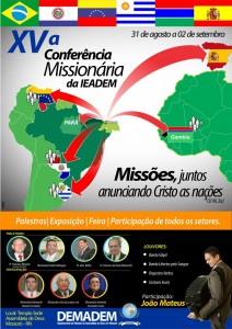 Conferencia Missionária 2017