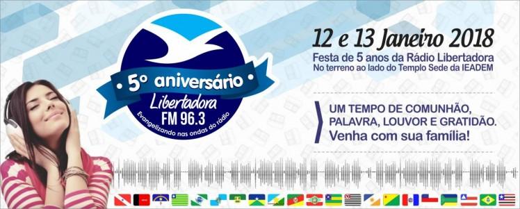 5 anos Rádio Libertadora_banner