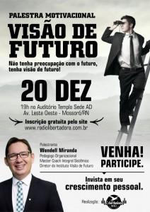 cartaz visão de futuro