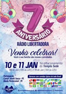 cartaz - Rádio Libertadora