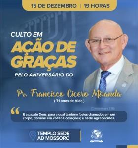 Pastor Francisco Cicero Miranda